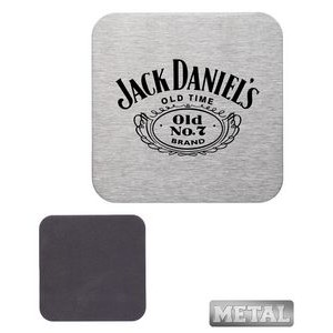 "4"" Stainless Steel Square Coasters"