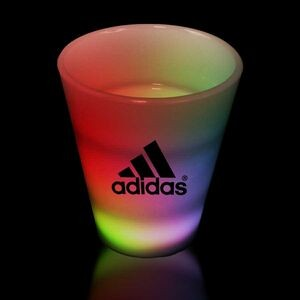 2 Oz. Multi-Colored LED Neon Look Shot Glass