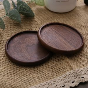 Custom Soft Round Wooden Cork Coaster