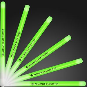 "Custom 9.4"" Green Glow Stick Wands"
